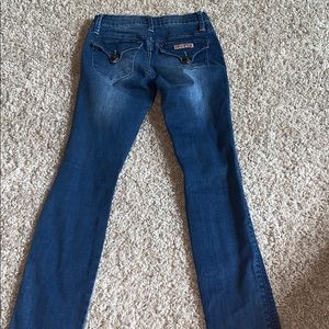 Hudson jeans distressed holes